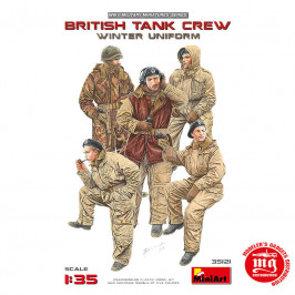 BRITISH TANK CREW WINTER UNIFORM MINIART 35121