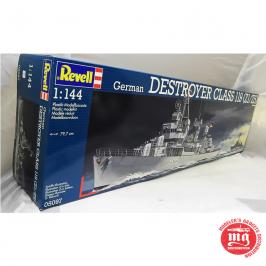 GERMAN DESTROYER CLASS 119 Z1/Z5 REVELL 05097