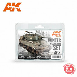 WINTER WHEATERING SET AK4270