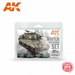 WINTER WHEATERING SET AK4270