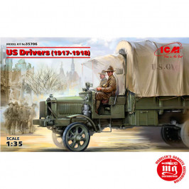 US DRIVERS 1917-1918 ICM35706
