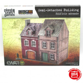 SEMI DETACHED BUILDING PLAST CRAFT GAMES EWAR58