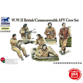 WWII BRITISH COMMONWEALTH AFV CREW SET  BRONCO CB35098