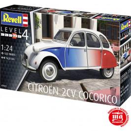 CITROEN 2CV COCORICO REVELL 07653