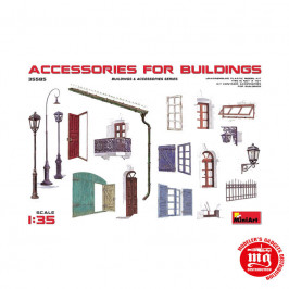 ACCESSORIES FOR BUILDINGS MINIART 35585