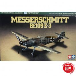 MESSERSCHMITT Bf109 E-3 TAMIYA 60750