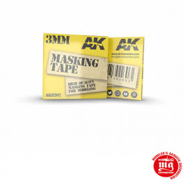 MASKING TAPE 3MM AK8202