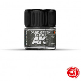 REAL COLOR DARK GREEN FS 34064 AK REAL COLOR RC342