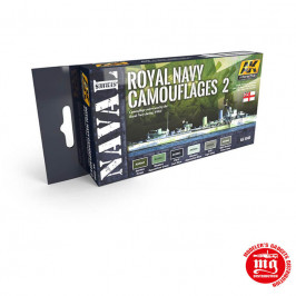 ROYAL NAVY CAMOUFLAGES 2 NAVAL SERIES AK5040