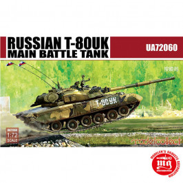 RUSSIAN T-80UK MAIN BATTLE TANK MODELCOLLECT UA72060