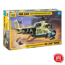SOVIET ATTACK HELICOPTER Mi-24P HIND ZVEZDA 7315