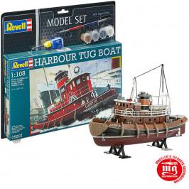 HARBOUR TUG BOAT MODEL SET REVELL 05207