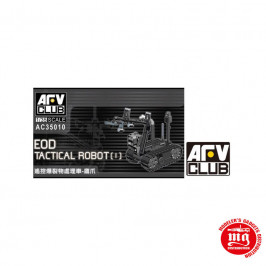 EOD TACTICAL ROBOT AFV CLUB AC35010