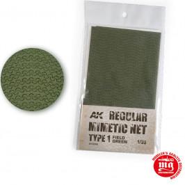 CAMOUFLAGE NET FIELD GREEN TYPE 1 AK8066