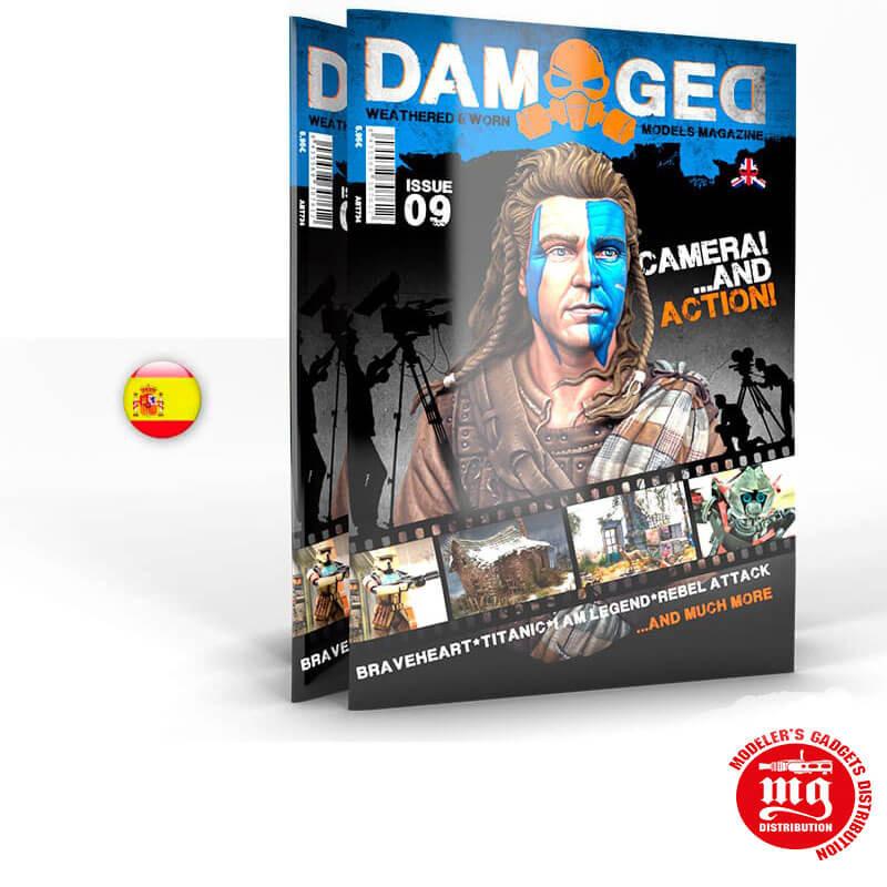 DAMAGED MAGAZINE 09 ABT735