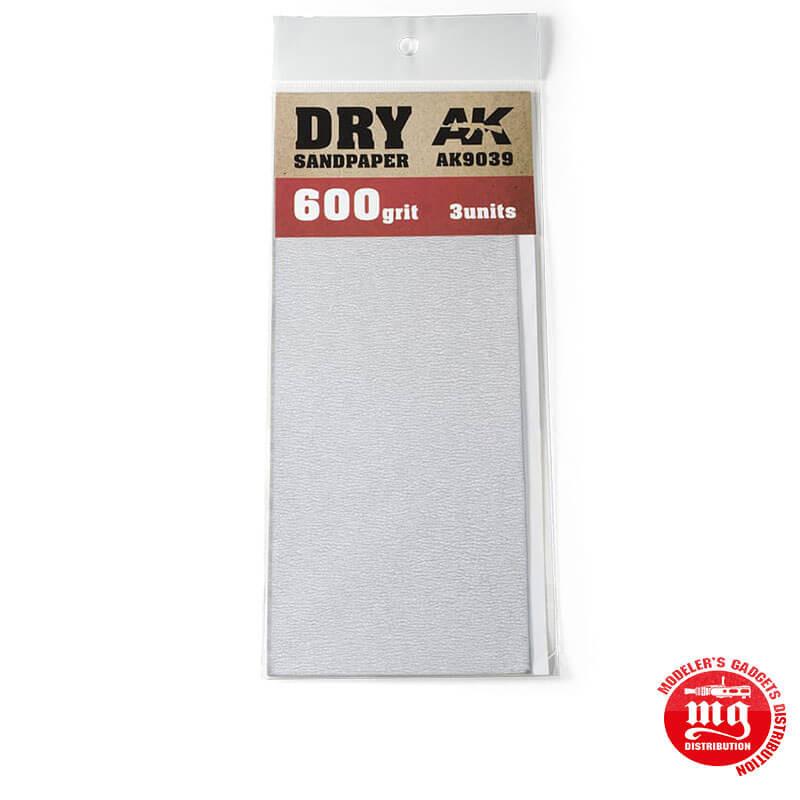DRY SANDPAPER 600 AK9039
