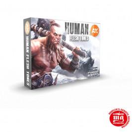 HUMAN FLESH TONES 3 GENERATION ACRYLICS AK11603