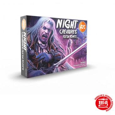 NIGHT CREATURES FLESH TONES 3 GENERATION ACRYLICS AK11602