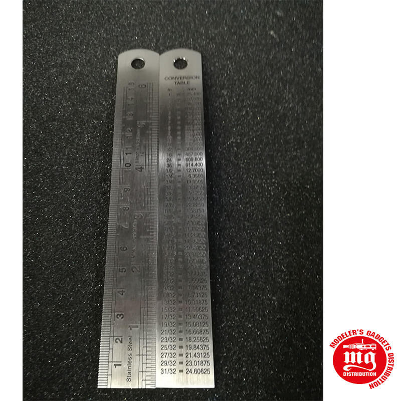 REGLA METALICA 15cm