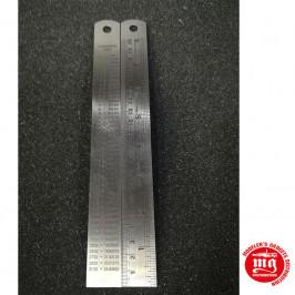 REGLA METALICA 20cm
