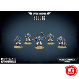 SPACE MARINES SCOUTS GAMES WORKSHOP 48-16