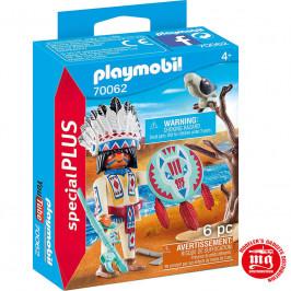 PLAYMOBIL JEFE NATIVO AMERICANO PLAYMOBIL 70062