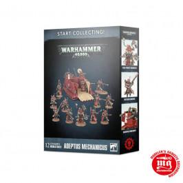 START COLLECTING ADEPTUS MECHANICUS WARHAMMER 40000 GAMES WORKSHOP 70-59