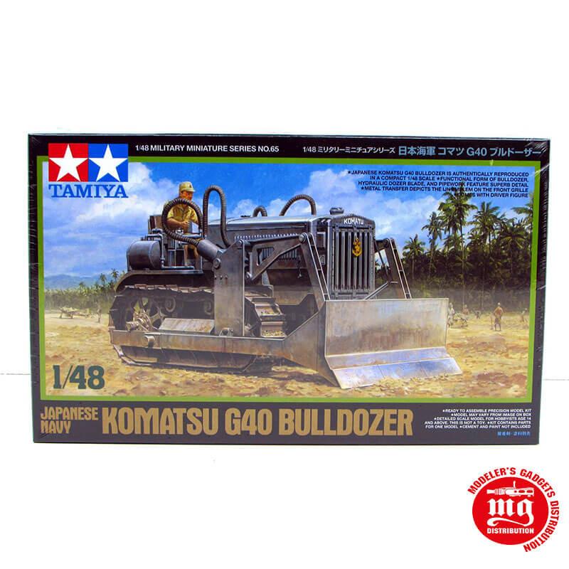 KOMATSU G40 BULLDOZER JAPANESE NAVY TAMIYA 32565