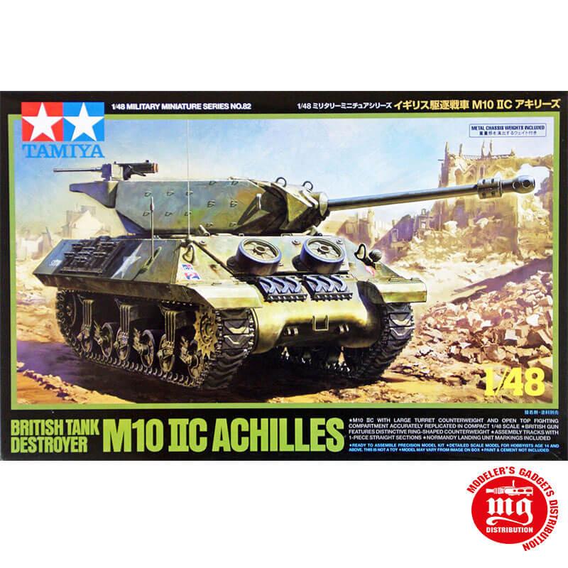 BRITISH TANK DESTROYER  M110 IIC ACHILLES TAMIYA 32582