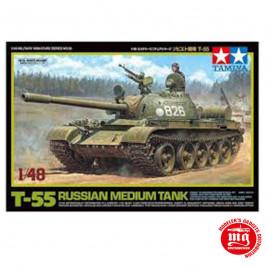 T55 RUSSIAN MEDIUM TANK TAMIYA 32598 ESCALA 1:48