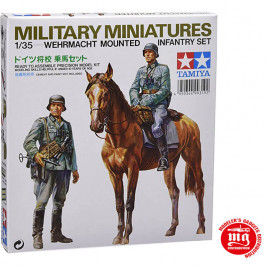 WEHRMACHT MOUNTED INFANTRY SET TAMIYA 35053