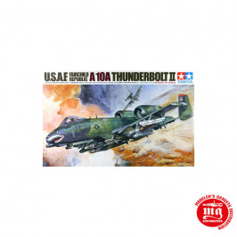USAF FAIRCHILD REPUBLIC A-10A THUNDERBOLT II TAMIYA 61028