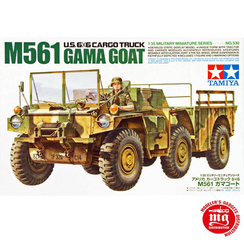 US 6X6 CARGO TRUCK M561 GAMA GOAT TAMIYA 35330 ESCALA 1:35