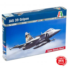 JAS 39 GRIPEN ITALERI 1306