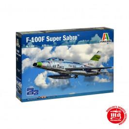 F-100F SUPER SABRE ITALERI 1398