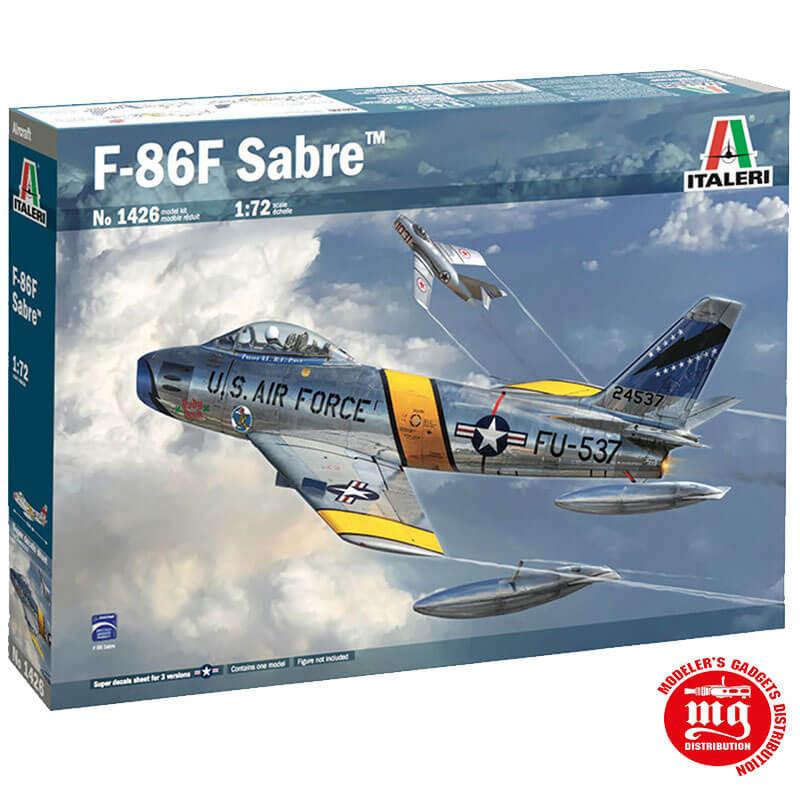 F-86F SABRE MIG KILLER ITALERI 1426