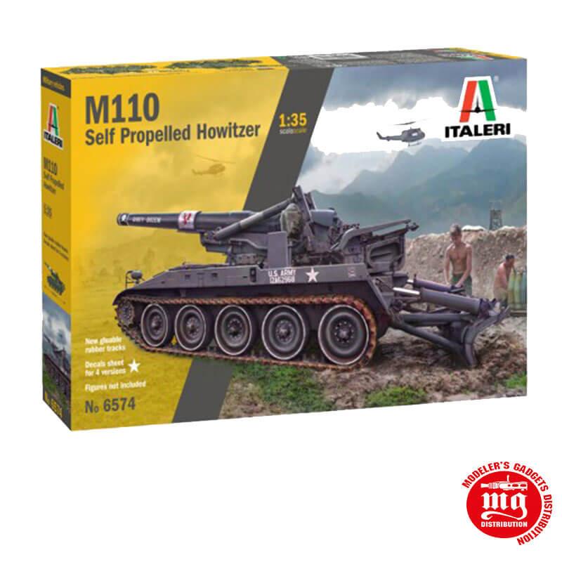 M110 SELF PROPELLED HOWITZER ITALERI 6574