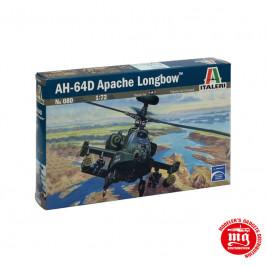 AH-64D APACHE LONGBOW ITALERI 080