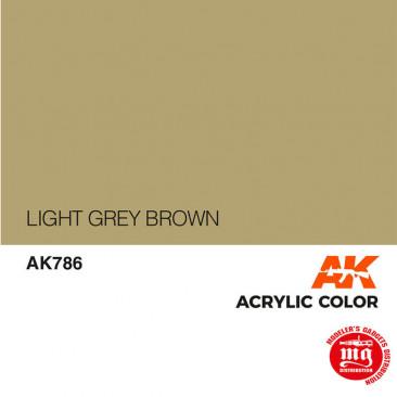 LIGHT GREY BROWN AK786