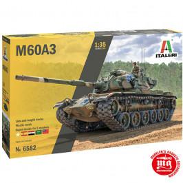 M60A3 MBT PATTON CON CALCAS ESPAÑOLAS ITALERI 6582