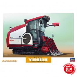 YANMAR COMBINE YH6115 HASEGAWA 66007