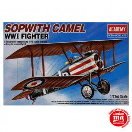 SOPWITH CAMEL WWI FIGHTER ACADEMY 12447