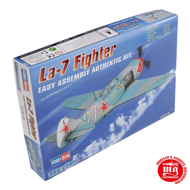 La-7 FIGHTER EASY ASSEMBLY AUTHENTIC KIT HOBBYBOSS 80236