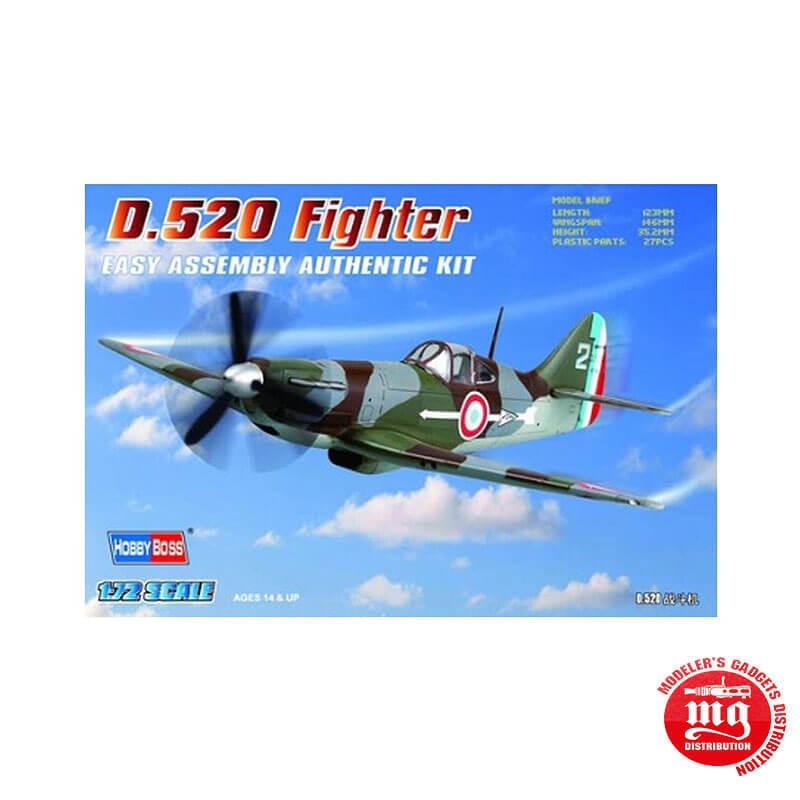 D.520 FIGHTER EASY ASSEMBLY AUTHENTIC KIT HOBBYBOSS 80237