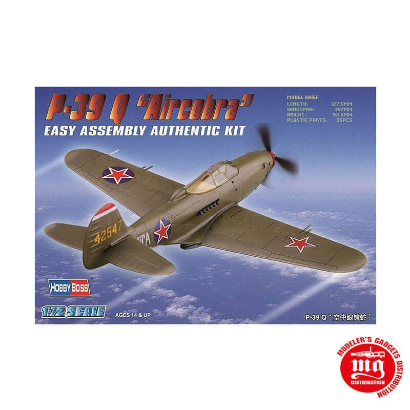 P-39 Q AIRCOBRA EASY ASSEMBLY AUTHENTIC KIT HOBBYBOSS 80240