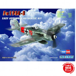 Fw190A-8 EASY ASSEMBLY AUTHENTIC KIT HOBBYBOSS 80244
