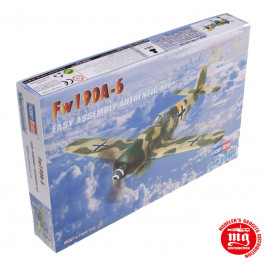 Fw190A-6 EASY ASSEMBLY AUTHENTIC KIT HOBBYBOSS 80245