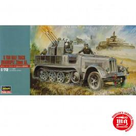 8 TON HALF TRACK QUADRUPLE 20mm AA GERMAN ARMY HASEGAWA 31114