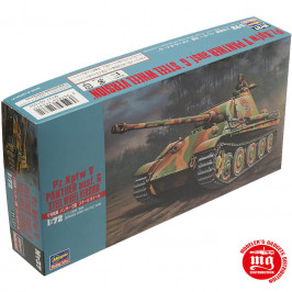 Pz Kpfw V PANTHER AUSF G STEEL WHEEL VERSION GERMAN ARMY BATTLE TANK HASEGAWA 31137