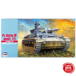 Pz Kpfw IV AUSF F1 GERMAN ARMY BATTLE TANK HASEGAWA 31141